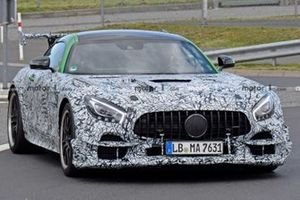 Mercedes AMG GT R Black Series spy photo