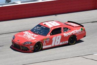 Denny Hamlin, Joe Gibbs Racing, Toyota Supra SportClips