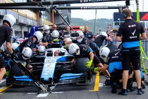 Williams pitstop practice