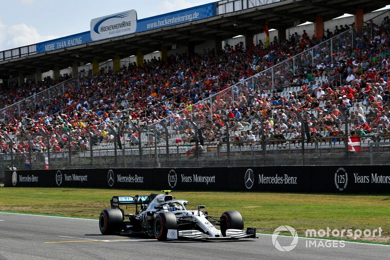 3: Valtteri Bottas, Mercedes AMG W10, 1'12.129