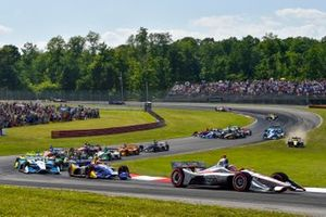 Start zum Honda Indy 200 in Mid-Ohio: Will Power, Team Penske Chevrolet, führt