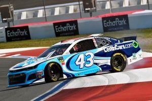Darrell Wallace Jr., Richard Petty Motorsports, Chevrolet Camaro LeithCars.com