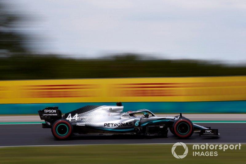 Lewis Hamilton, sin rivales