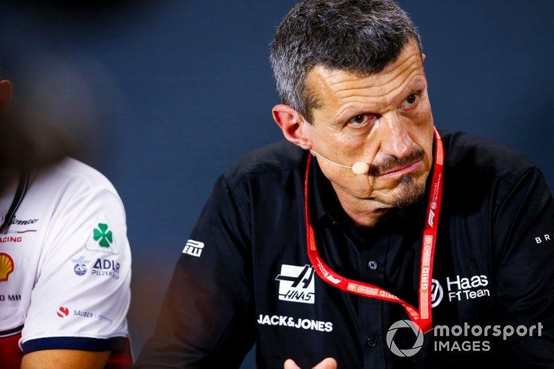 Guenther Steiner, Team Principal, Haas F1, en conférence de presse