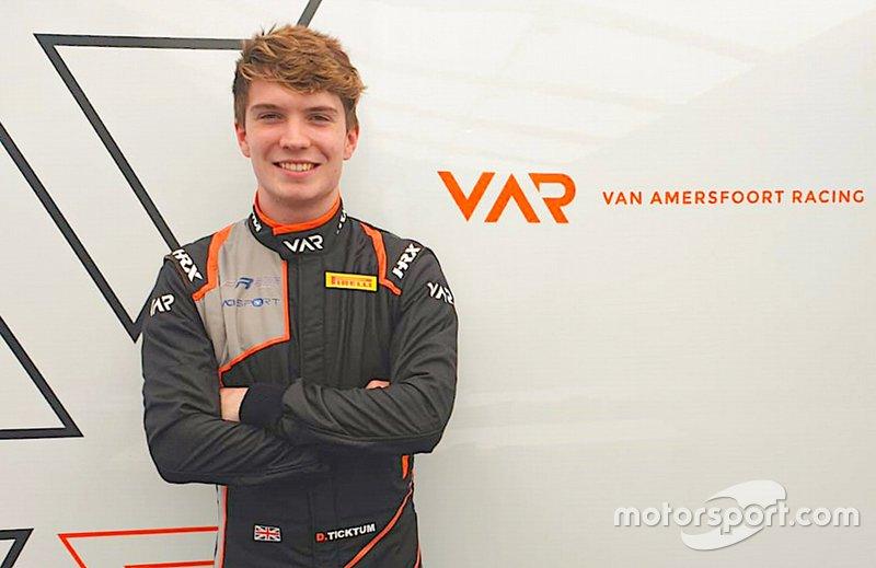 Dan Ticktum, Van Amersfoort Racing