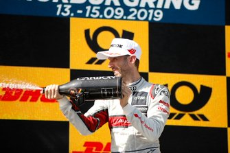 Podium: René Rast, Audi Sport Team Rosberg