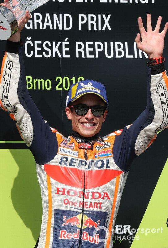 Podyum: Yarış galibi Marc Marquez, Repsol Honda Team