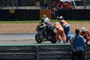 Lorenzo Baldassarri, Pons HP40, crashes