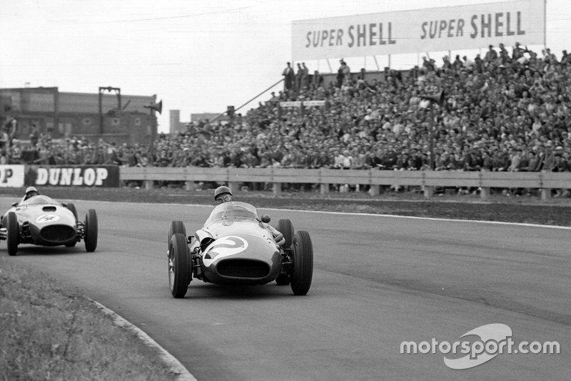 Juan Manuel Fangio, Maserati y Luigi Musso, Ferrari