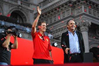 Sebastian Vettel, Ferrari en Gerhard Berger