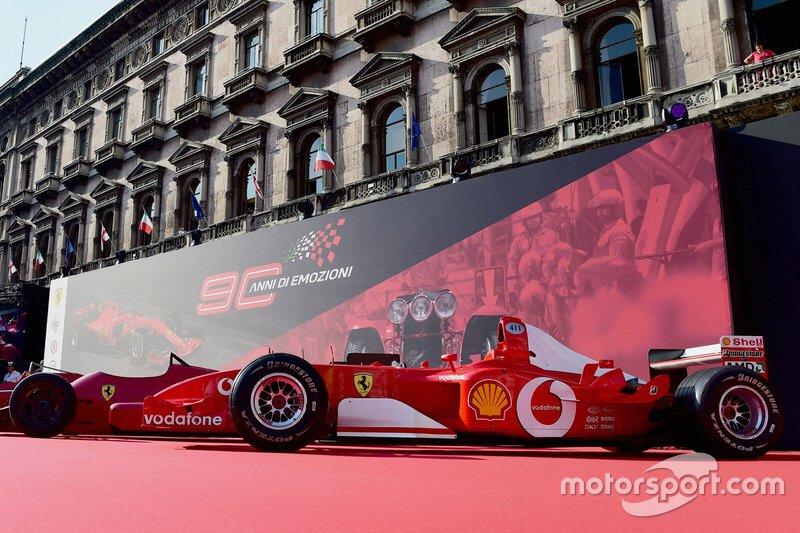 Un F1 de Ferrari