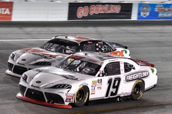Brandon Jones, Joe Gibbs Racing, Toyota Supra Freightliner, Harrison Burton, Joe Gibbs Racing, Toyota Supra Dex Imaging