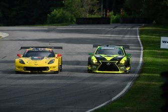 #4 Corvette Racing Corvette C7.R, GTLM: Oliver Gavin, Marcel Fassler, #14 AIM Vasser Sullivan Lexus RC F GT3, GTD: Richard Heistand, Jack Hawksworth