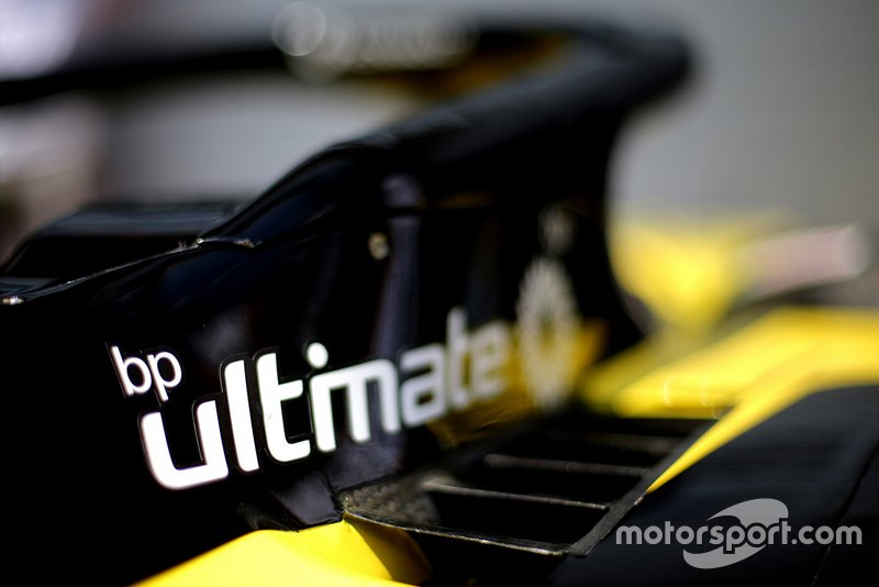 BP logo on the Renault F1 Team R.S.19
