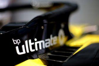 Logo BP sur la Renault F1 Team R.S.19