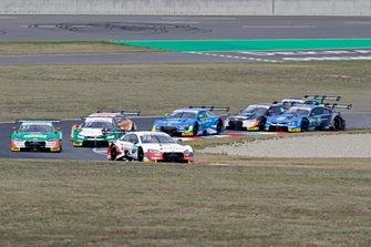 Start actiom, René Rast, Audi Sport Team Rosberg, Audi RS 5 DTM leads