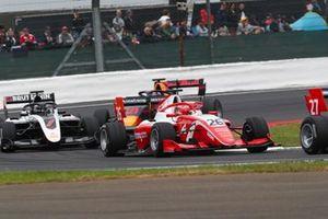 Marcus Armstrong, PREMA Racing, David Beckmann, ART Grand Prix and Juri Vips, Hitech Grand Prix