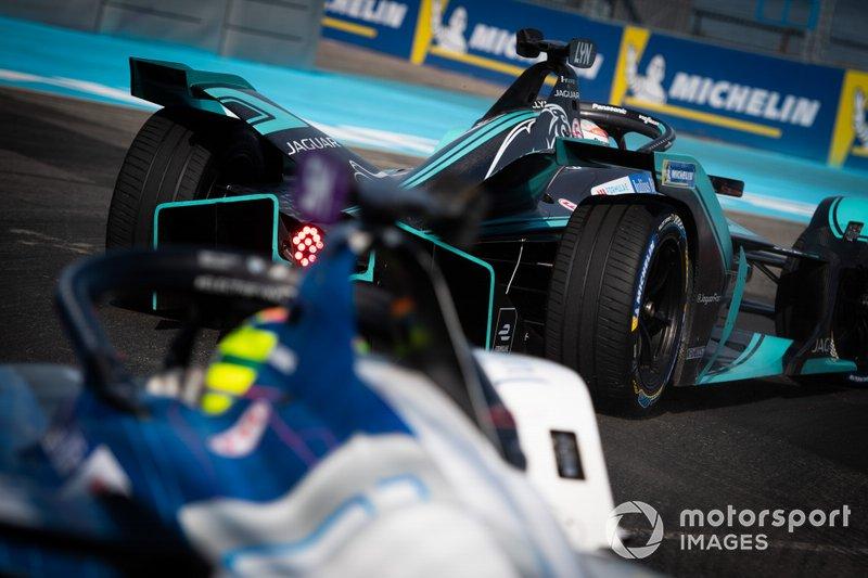 Alex Lynn, Panasonic Jaguar Racing, Jaguar I-Type 3, Alexander Sims, BMW I Andretti Motorsports, BMW iFE.18