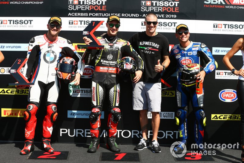Tom Sykes, BMW Motorrad WorldSBK Team, Jonathan Jonathan Rea, Kawasaki Racing Team, Spies, Sandro Cortese, GRT Yamaha WorldSBK