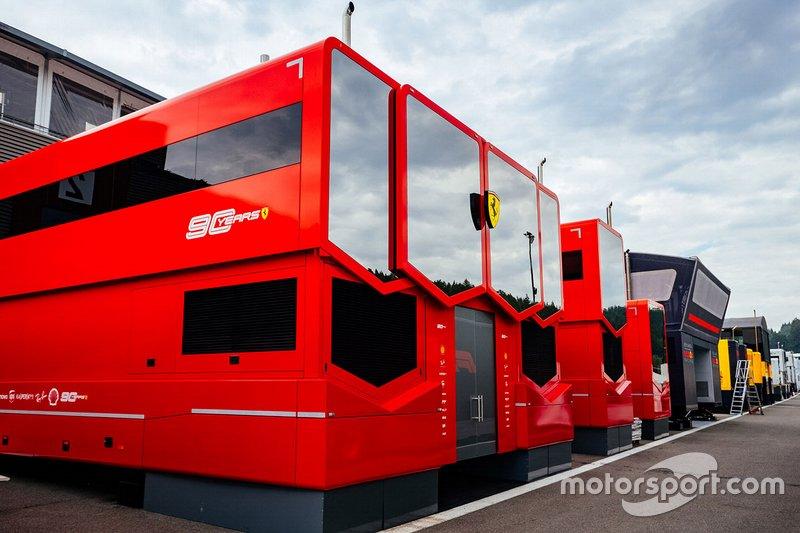Motorhome da Ferrari