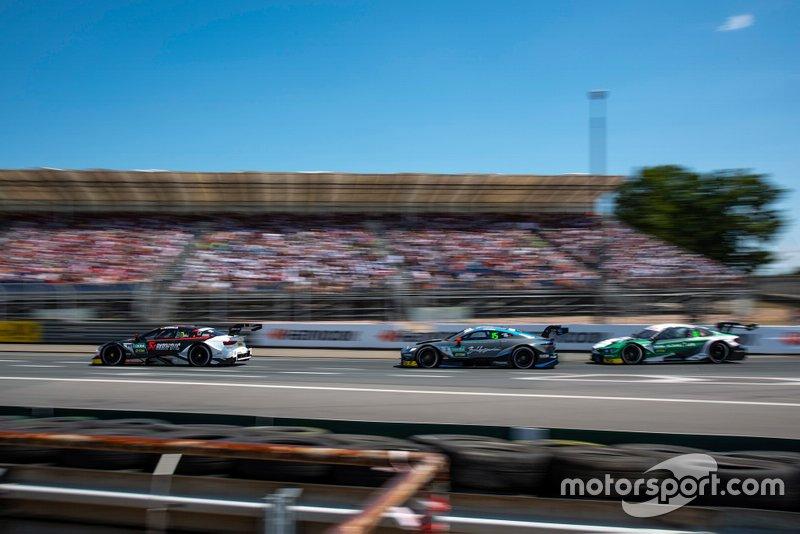 Mike Rockenfeller, Audi Sport Team Phoenix, Audi RS 5 DTM, Paul Di Resta, R-Motorsport, Aston Martin Vantage AMR