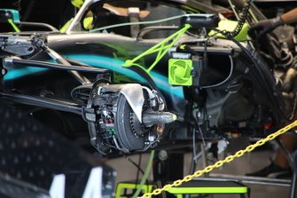 Mercedes AMG F1 W10, brake