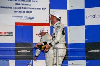 Gustavo Sandrucci, Maldarizzi Automotive By Melatini Racing, festeggia sul podio
