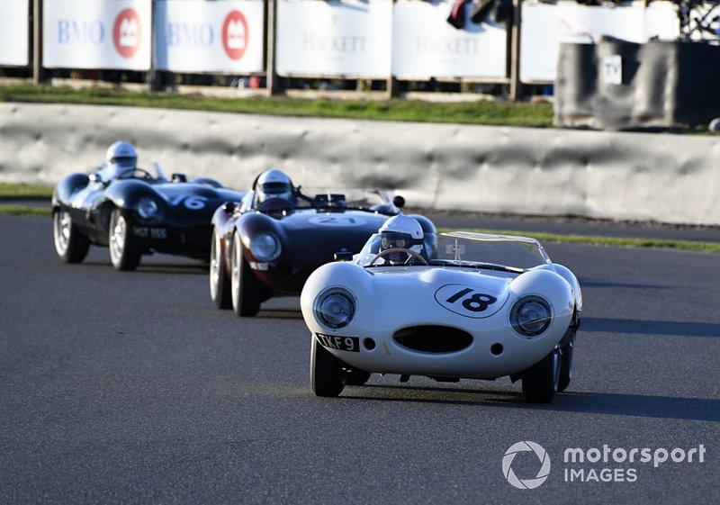 Freddie March Memorial Trophy Gary Pearson Jaguar D Type