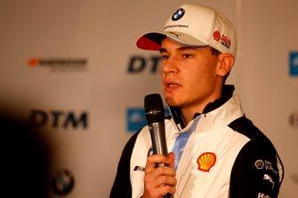 Press Conference, Sheldon van der Linde, BMW Team RBM