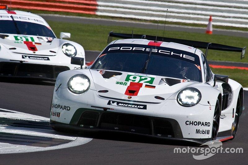 #92 PORSCHE GT TEAM Porsche 911 RSR - 19: Kevin Estre, Michael Christensen