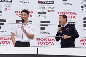 Kazuki Nakajima, Team Tom's with Satoru Nakajima
