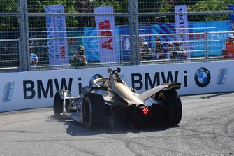 Crash: Andre Lotterer, DS TECHEETAH, DS E-Tense FE19