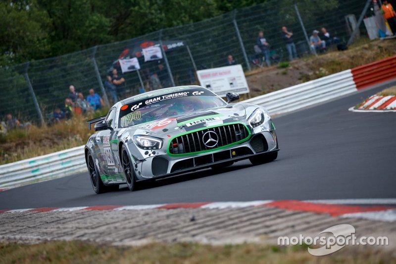 #190 Team Mathol Racing Mercedes-AMG GT4: Scott Preacher
