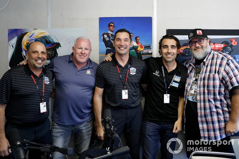 Mike Zizzo, Paul Tracy, Max Papis, Dario Franchitti, Marshall Pruett
