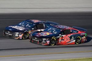 Matt Tifft, Front Row Motorsports, Ford Mustang Southwestern Trucking and Corey LaJoie, Go FAS Racing, Ford Mustang CorvetteParts.net