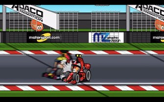 El toque Leclerc vs Verstappen en Austria, por los Minis