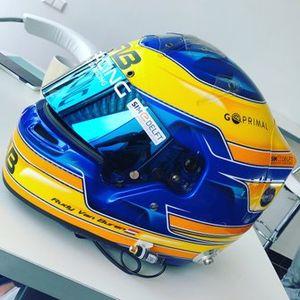 Helm van Rudy van Buren, Porsche Carrera Cup