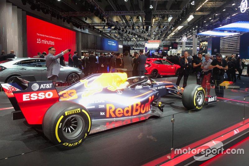 Red Bull al Salone di Francoforte