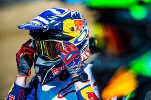 Andrea Dovizioso s'entraîne en motocross
