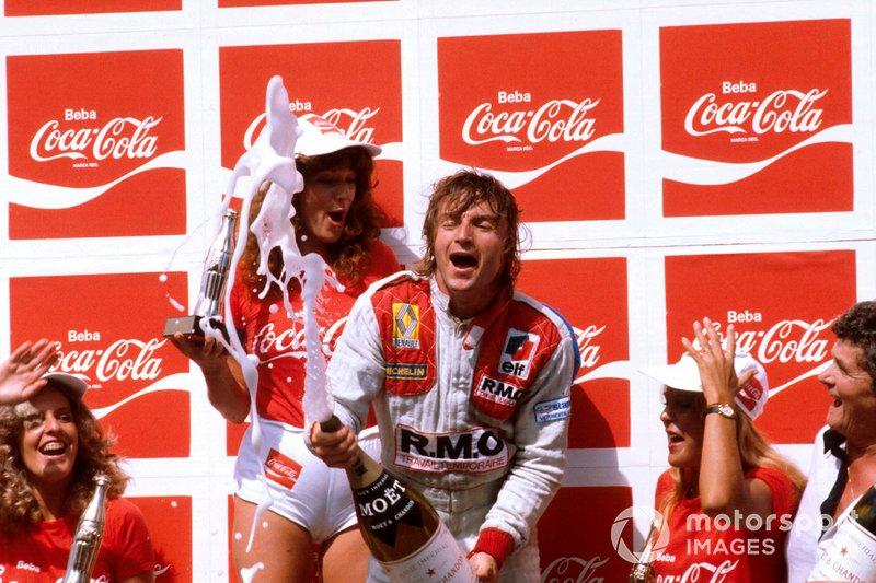10. René Arnoux - 7 victorias