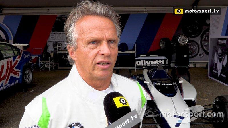 Jan Lammers interview Historic Grand Prix Zandvoot