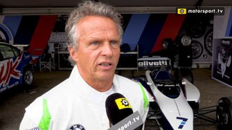 Jan Lammers interview Historic Grand Prix Zandvoot