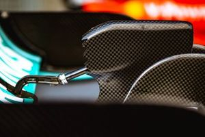 Mercedes AMG F1 W10 Rear Wing