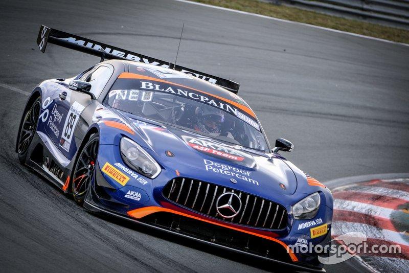 #89 Akka ASP Team Mercedes-AMG GT3: Nico Bastian, Thomas Neubauer