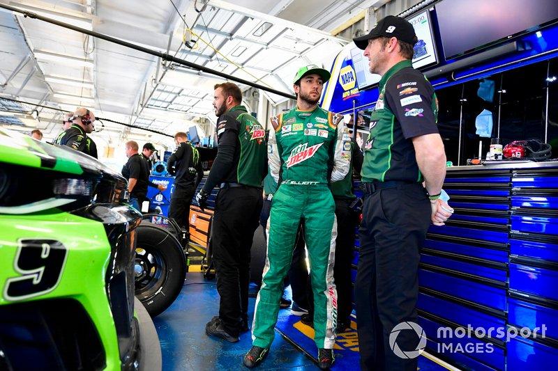 Chase Elliott, Hendrick Motorsports, Chevrolet Camaro DEWnited States, Alan Gustafson