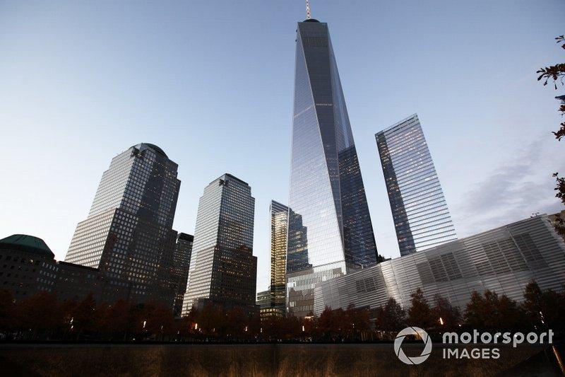 Skyscrapers over Ground Zero