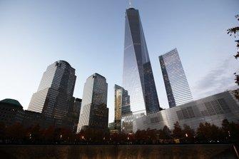 Wolkenkrabbers bij Ground Zero
