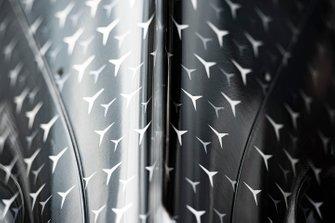 Detalles del Mercedes AMG F1 W10