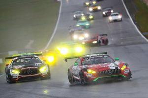 #23 GetSpeed Performance Mercedes-AMG GT3: John Shoffner, Janine Hill, Fabian Schiller