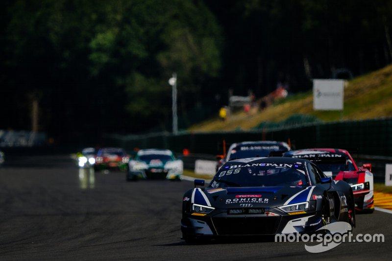 #55 Attempto Racing Audi R8 LMS GT3 2019: Steijn Schothorst, Pieter Schothorst, Mattia Drudi